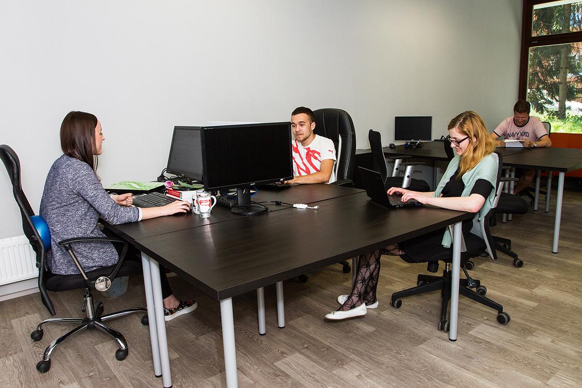 Větší kancelář - Coworking Olomouc